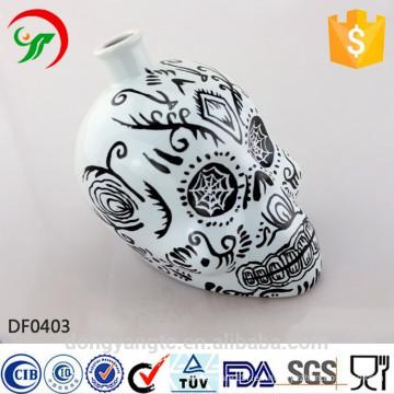 Fábrica por encargo, flagon característica de cerámica, diseño atractivo, ayuda personalizada