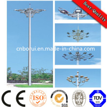 01 Stadium Lighting High Mast Lighting Pole, Steel Pole Light Pole with Lift System
