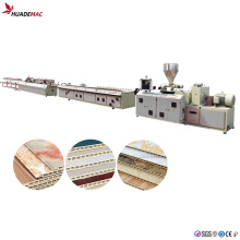Экструзионная машина для производства потолочных панелей из ПВХ