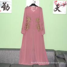 Abaya Clothing Type and Women muslim long sleeve maxi dress simple women abaya