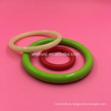 Sello de elasticidad Anillo de goma O Anillo de NBR de silicona más barato Anillos tóricos de fluorosilicona reales