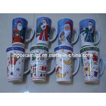 Christmas Pringting Mug, 16oz Ceramic Mug