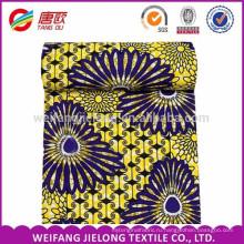 Большой шаблон печать мода Африканский ткань воск ткань