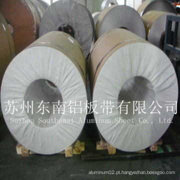 Bobina de alumínio 6063 usada na construção