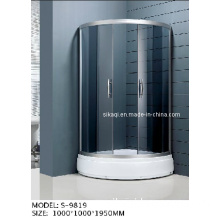 1000*1000mm Semi-Circular Shower Enclosure (S-9819)