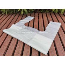 Bolsas de compras resistentes a la rotura de PLA compostables