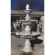 Stage Water Fountain for Garden Tiered Stone Marble Fountain (SY-F090)