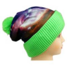 Bonnet tricoté avec impression sublimation NTD1676