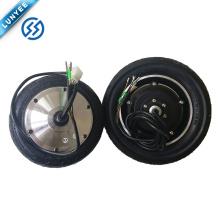 Motor eléctrico 24v 250w de la rueda del motor del eje de rueda de la vespa de la balanza de 8 pulgadas