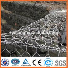Parede de caixa de gabião de rede de proteção de inclinação de baixo preço