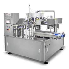 Automatic Premade Ziplock Doypack Pouch Gusset Bag Packaging Machine