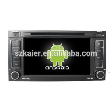 Android 4.4 Mirror-Link TPMS DVR 1080P Dual-Core-Auto zentrale Multimedia für Volkswagen Touareg mit GPS / Bluetooth / TV / 3G
