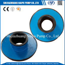 Karet Liner Slurry Pump Parts Throatbush