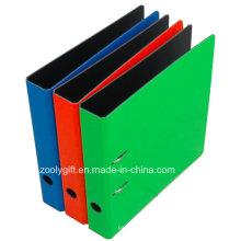 Billet de dossier en gros de papier couleur de levier de vente en gros