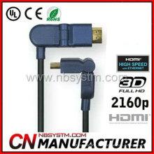 Cable HDMI Un macho a D macho