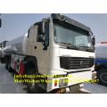 Sinotruk Howo 8x4 38000L water tank truck