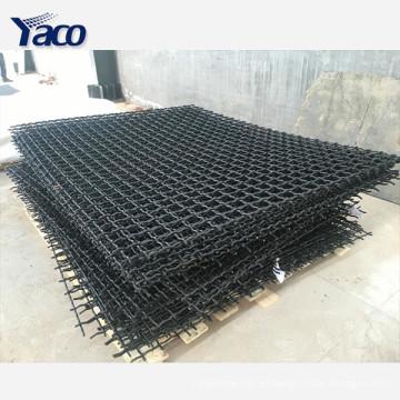 Alibaba site china fornecedor frisado painel de tela de malha de arame agitar a tela para o carvão