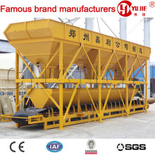 Concrete Batching Machine PLD1600-3, Aggregate Bins, Aggregate Batching System, Aggregate Weighing System