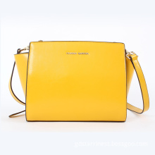 Fashionable Brand Popular Women Genuine Leather Shoulder Handbag (8818)