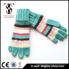 Gant tricot acrylique Diverses couleurs disponibles