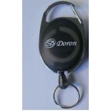 Plastik Badge Reel Schlüsselanhänger mit Logos (GZHY-KA-024)