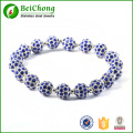 Populaire lucky perles personnalisé bracelet