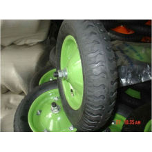 4.00-8 зеленый резиновые колеса