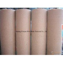 China A rede de arame soldada de aço inoxidável profissional da fonte / galvanizou a malha de arame soldada / o fio soldado PVC Emsh