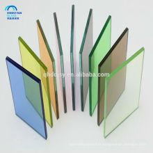 Porte en verre trempé teinté de couleur de 8mm 10mm 12mm de China glass usine