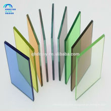 8mm 10mm 12mm colored tinted tempered glass door from China glass factory