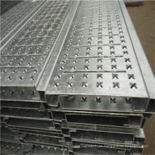 Placa de metal perforada antideslizante de alta calidad