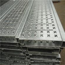 Placa de metal perfurada antiderrapagem de alta qualidade