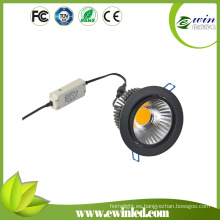 1400-1500lm15W LED Downlight interior con certificación CE RoHS