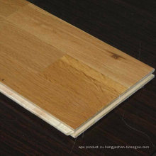 Лучшее качество дешевой цене компания unilin замка 15мм/4мм 3-полосные Дуб Проектированный деревянный настил