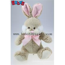 """Die Stoffe der Qualitäts-hellen Brown-weißen Bart-Kaninchen-Geschenk der guten Geschenke Die guten Spielwaren der Kinder können besonders angefertigt werden Bos2016-04 / 16.5 """""""