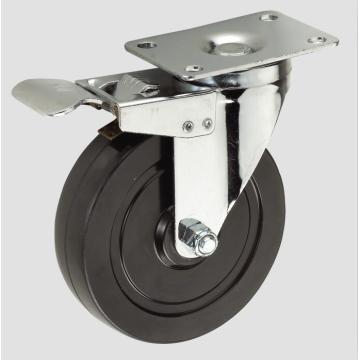 3-дюймовая черная резина с полным колесом тормозного колеса