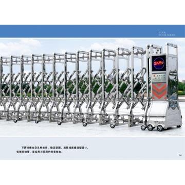 Раздвижные автоматические откатные ворота