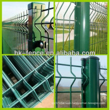 High Quality RAL6005 PVC Coated Corrugated Fence Panel Green Fence(Professional Manufacture)