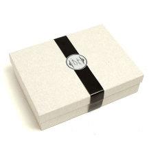 Caja de empaquetado del regalo de papel de encargo de alta calidad de la cartulina