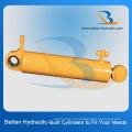 Cilindro hidráulico de empuje y arrastre para excavadora