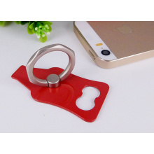 Creative custom ring support for mobile phones