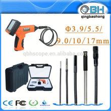 """IP67 inspeção de câmera de tubo à prova d'água com sonda de 3.9mm / 5.5mm / 9mm / 17mm 3.5 """"monitor TFT"""