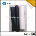 Tecido de vidro revestido de PTFE de cor preta antiestática