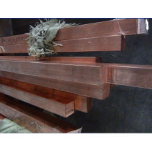 Custom T2 , C11000 Gb Square Red Copper Flat Bar , Rod For Runways , Hoists
