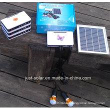 Solar Battery Charger LED DC Lighting System