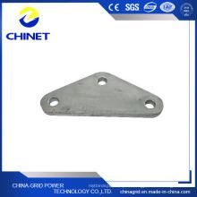 Plaque de sablage en acier galvanisé