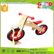 Красивый дизайн детей деревянный баланс велосипед игрушки для 6 лет