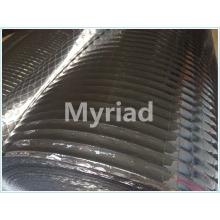 Folha de alumínio termo-selante para uso doméstico