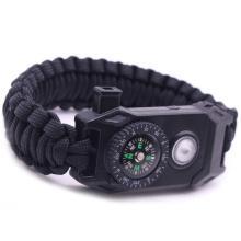 Wild Protection Emergency Paracord Survival Bracelet