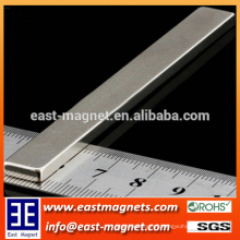 Rare Earth Permanent Rectangle NdFeB Magnet with Nickle Coating